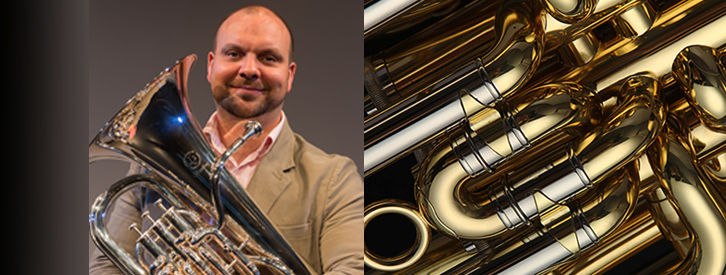 Steve Miles, National Brass Band of New Zealand chooses JP374 Sterling Euph