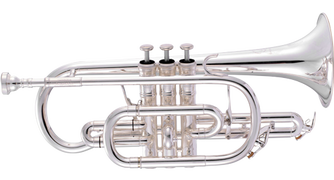 JP371SW Bb Cornet gets a silver upgrade