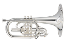 JP2051S Marching Mellophone Silver CUTOUT