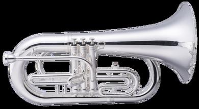 JP2054 Marching Baritone Silver CUTOUT