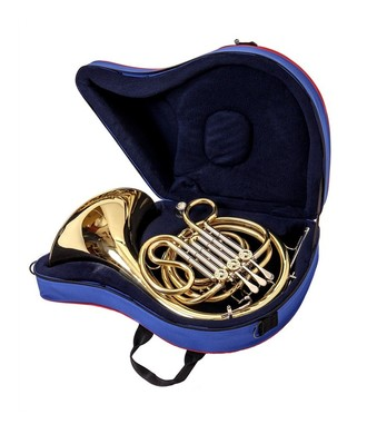 JP8162 French horn case open
