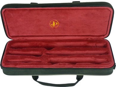 JP817 flute & piccolo case open