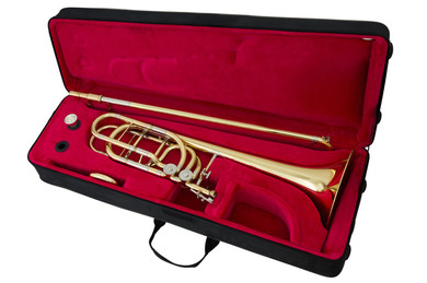 JP8232 bass trombone case open