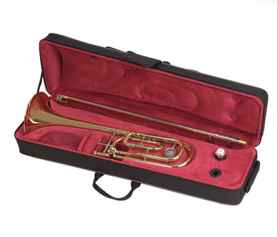 JP8331 Tenor trombone case open