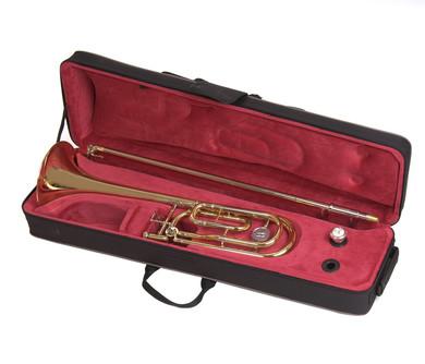 JP8331 Tenor trombone case open