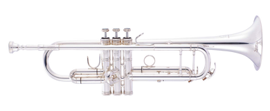 JP251SW Trumpet Bb silver plate CUTOUT