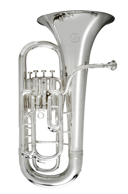 JP174L Euphonium Silver CUTOUT  reduced