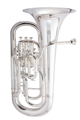 JP374 Sterling Euphonium Silver plate CUTOUT  reduced
