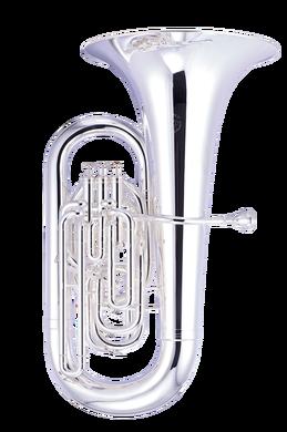 JP277 Tuba Silver plate CUTOUT