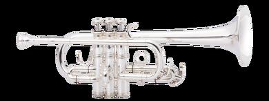 JP257SWS trumpet silver CUTOUT