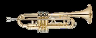JP351SW HW Bb Trumpet Lacquer CUTOUT