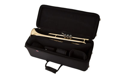 JP351SW HW Bb Trumpet in Lacquer Instrument In Double Trumpet Case