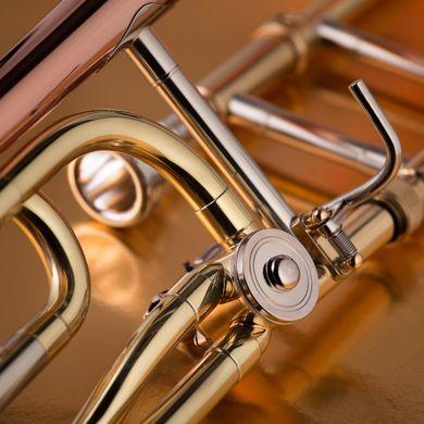 JP133 Bb F Trombone Macro Shot