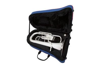 JP074 Euphonium in Silverplate Instrument In Case Shot