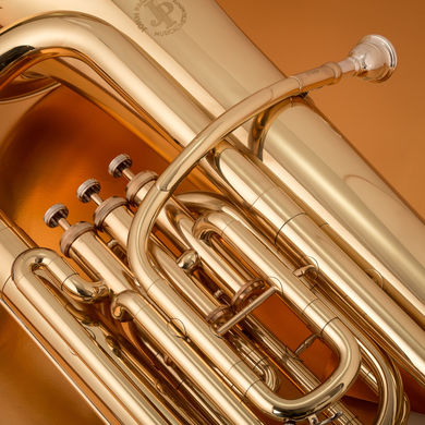 JP077 Tuba Lacquer Macro Shot