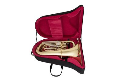 JP278 BBb Tuba Lacquer Instrument In Case Shot