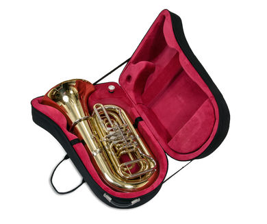 JP379 Sterling B Tuba IN CASE SHOT 2