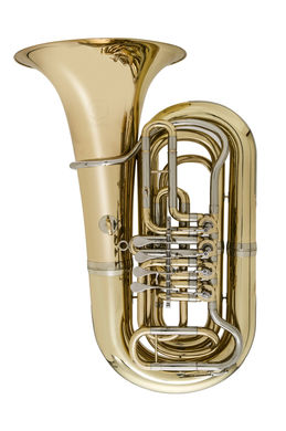 JP379 Sterling B Tuba Lacquer Instrument shot