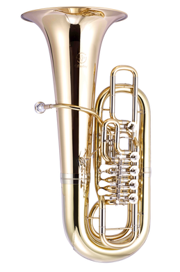 JP379FF Sterling Tuba Lacquer CUTOUT