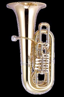JP379FF Sterling Tuba Lacquer CUTOUT