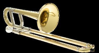 JP136 Alto Trombone Eb Lacquer angled CUTOUT
