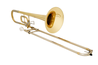 JP138 Trombone Bb C Lacquer angled CUTOUT