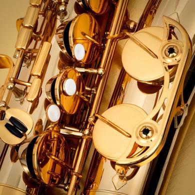 JP242 Bb Tenor Saxophone MACRO SHOT