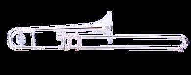 JP231S RATH Trombone Silver plate CUTOUT