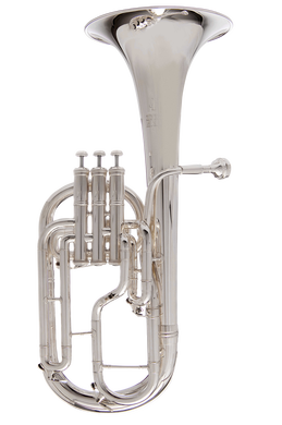 JP272 Tenor Horn Silver CUTOUT reduced