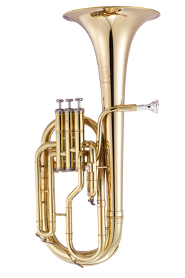 JP372 STERLING Tenor Horn Lacquer CUTOUT reduced
