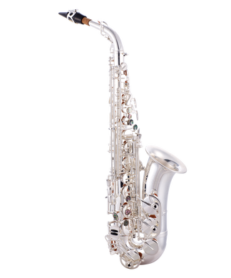 JP045S Alto Sax Silver CUTOUT reduced