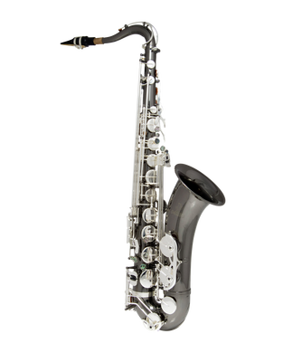JP042BS Sax Black Silver Keys CUTOUT reduced