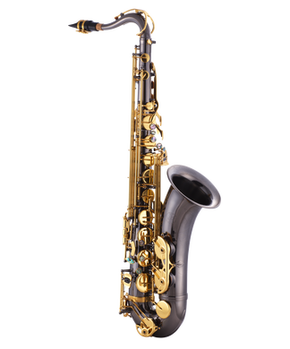 JP042B Sax Black Gold Keys CUTOUT reduced