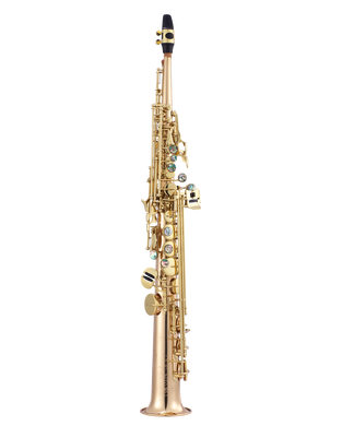 JP243 Soprano Sax Lacquer CUTOUT reduced