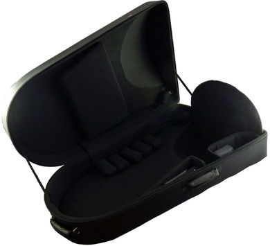 JP861 pro lightweight BBb tuba case open