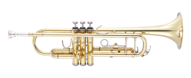 JP151MKII Trumpet Bb lacquer CUTOUT