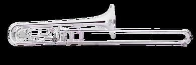 JP331 RATH Trombone Silver plate CUTOUT