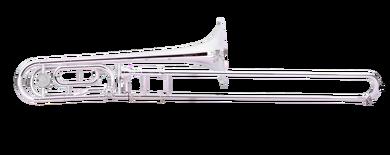 JP332 RATH Trombone Silver plate CUTOUT