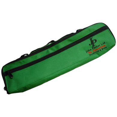 John Packer JP840 Flute Case Cover green cut out square