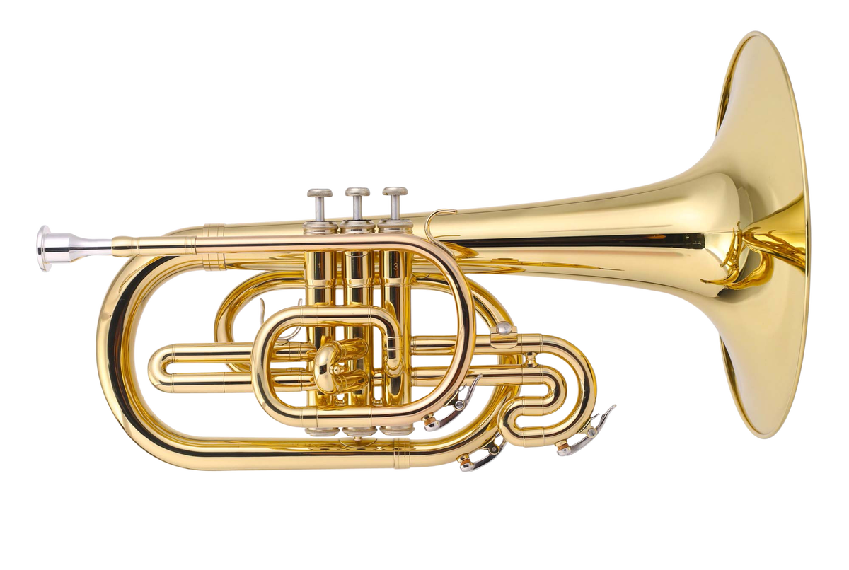 JP2051 Marching Mellophone Lacquer CUTOUT