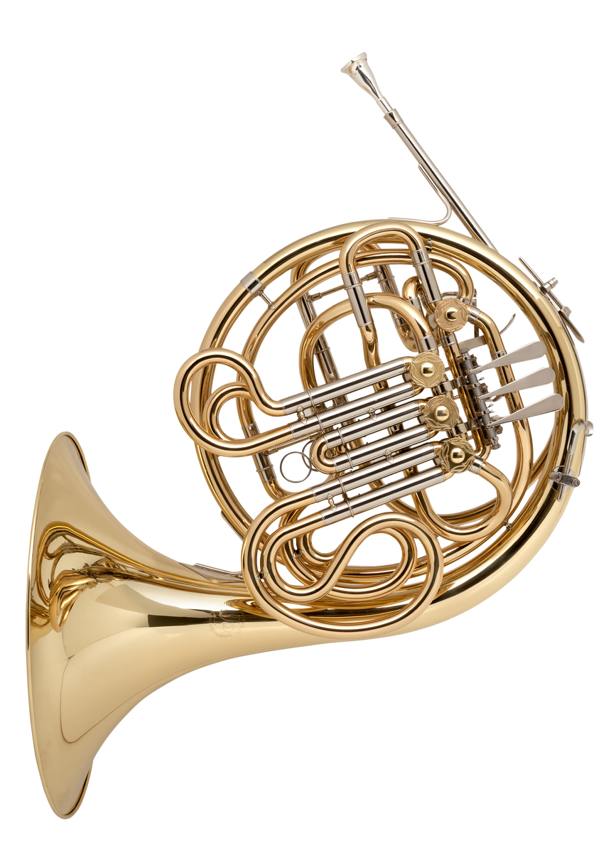 JP164 Double French Horn BbF Lacquer CUTOUT   reduced