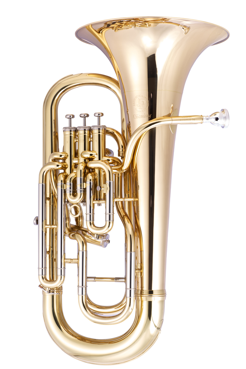JP374 Sterling Euphonium Lacquer CUTOUT   reduced