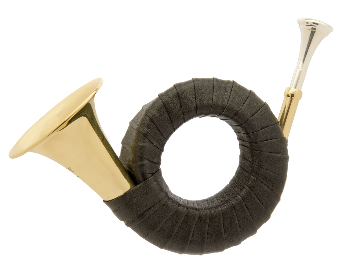 John Packer JP901 Bb Circular Hunting Horn
