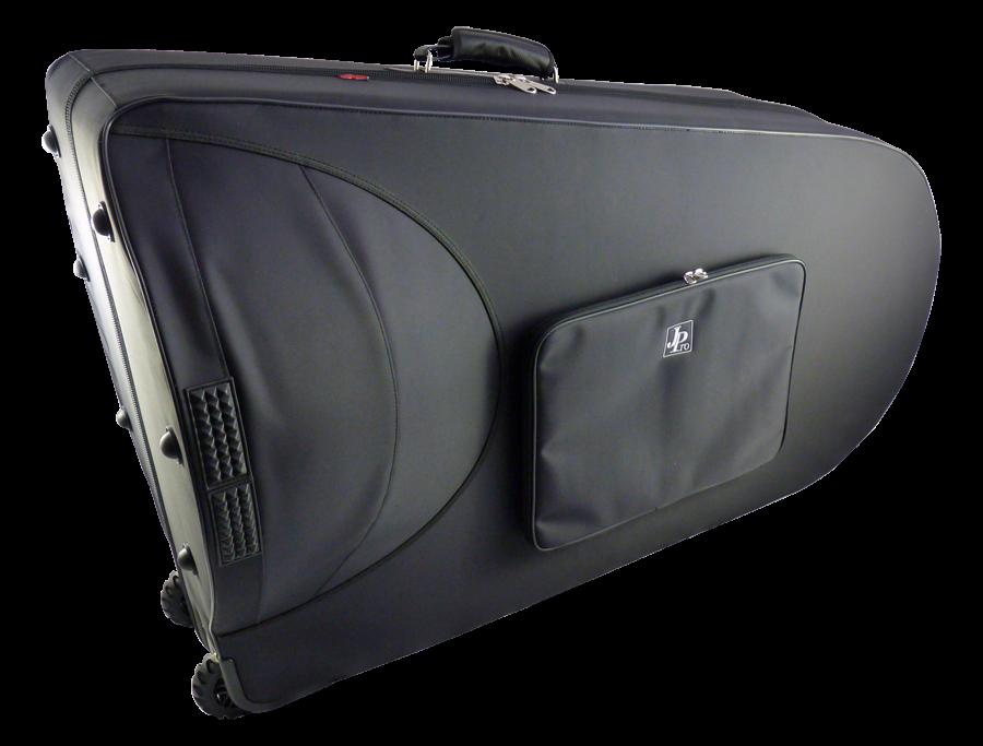 John Packer JP861 Pro Lightweight BBb Tuba Case cut out small